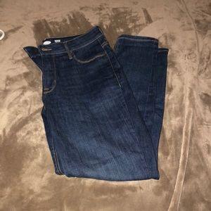 Women's jeans size 10 short.
